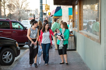Enjoy the downtown shops in our communities.