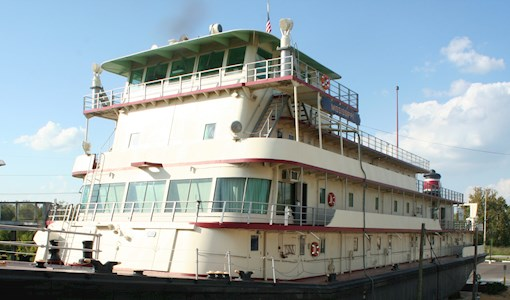 Motor Vessel MS IV at the Jesse Brent Lower Mississippi River Museum