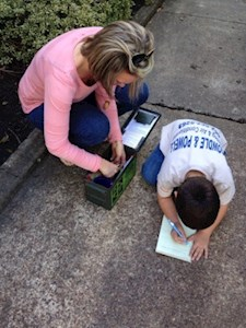 Geocaching is a family affair in the MS Delta!